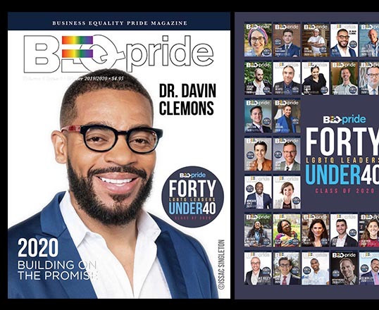 Davin Top 40 Under 40 Business Equality