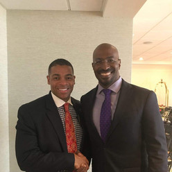 Davin and Political Analyst Van Jones