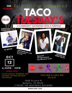 TACO TUESDAY LINE UP FLYER