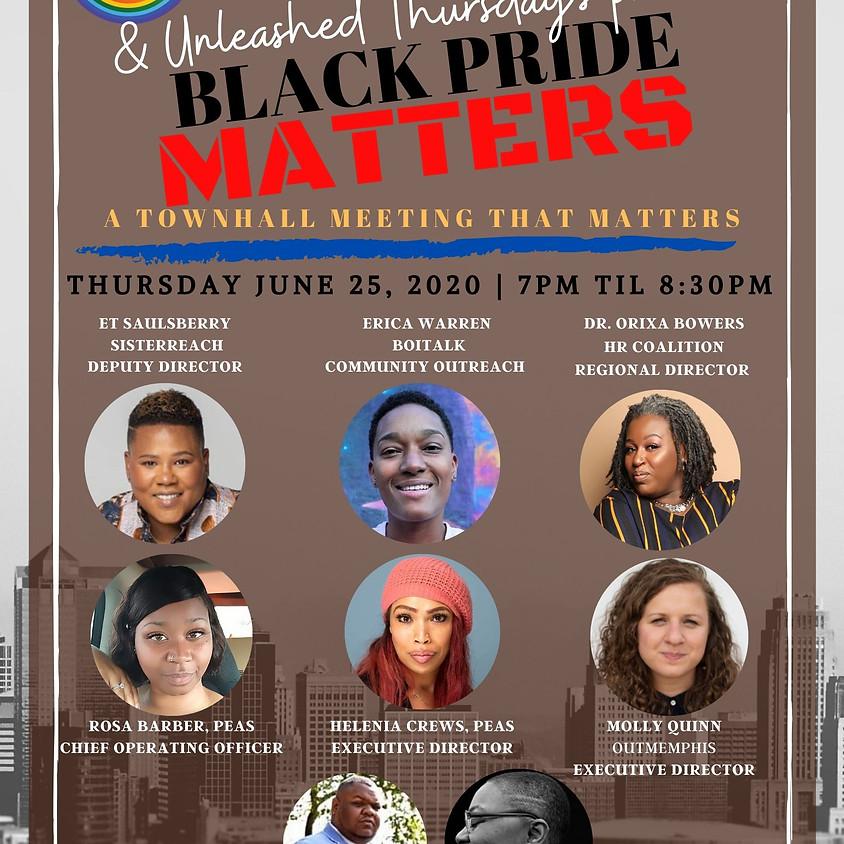 Black Pride Memphis Community Townhall Meeting
