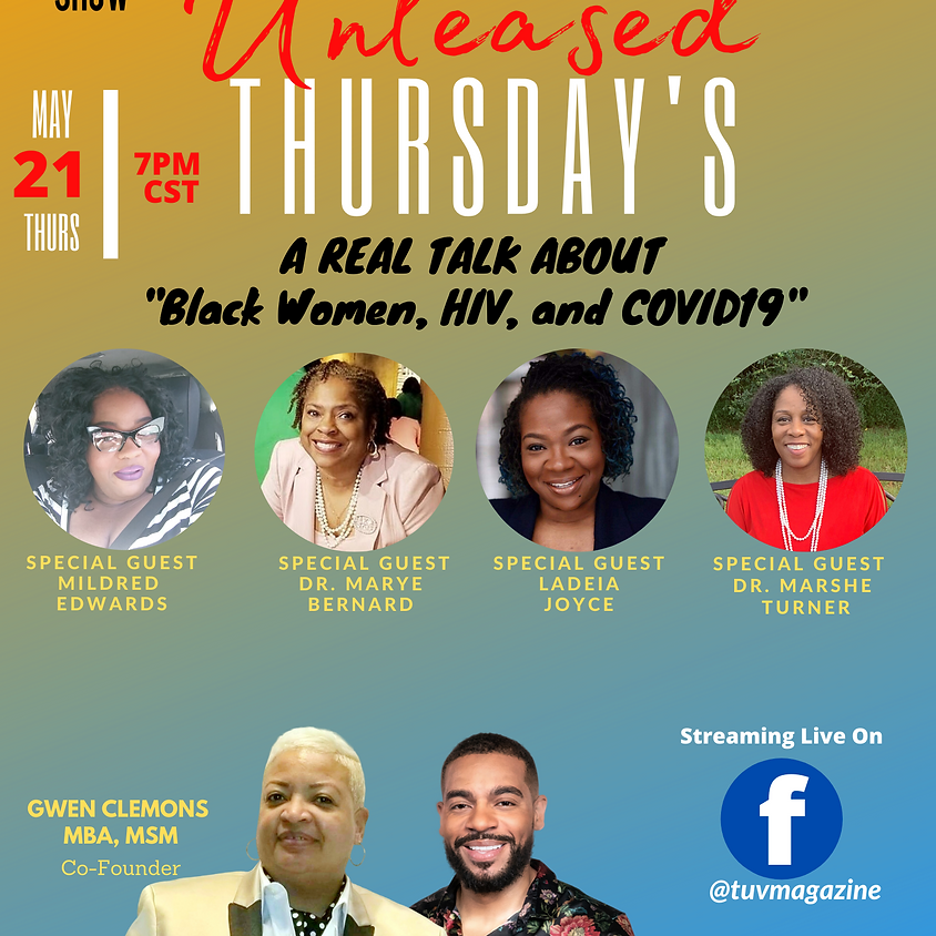 Black Women, HIV & COVID19 - A Real Talk About the State of Black Women in the South