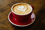cappuccino-filled-cup-on-red-saucer-1414
