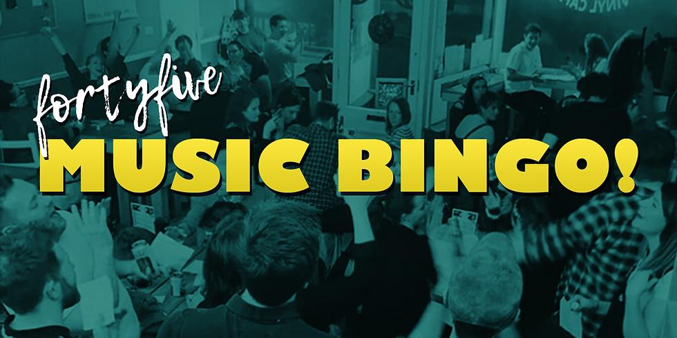 FortyFive Music Bingo!