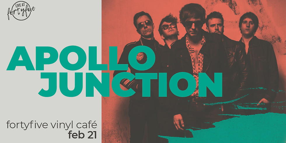 Live At FortyFive • Apollo Junction + Supports