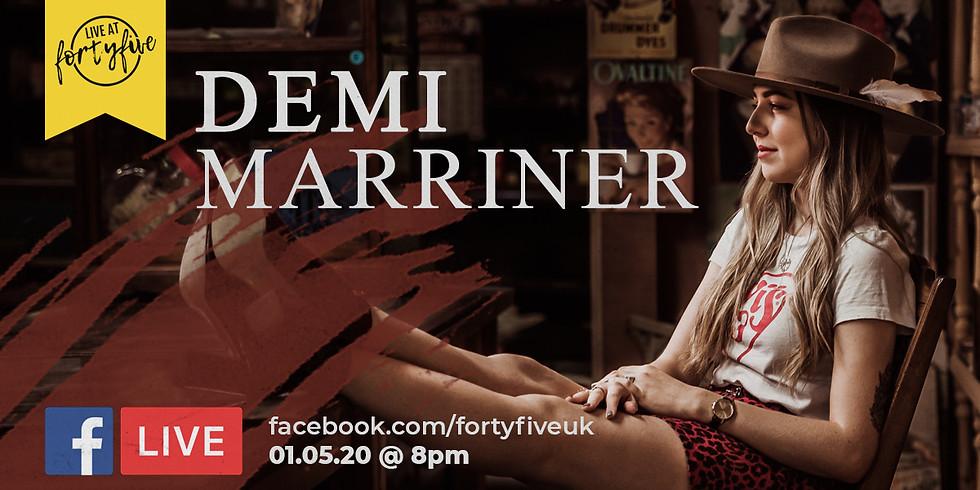 Demi Marriner • Facebook Live At FortyFive