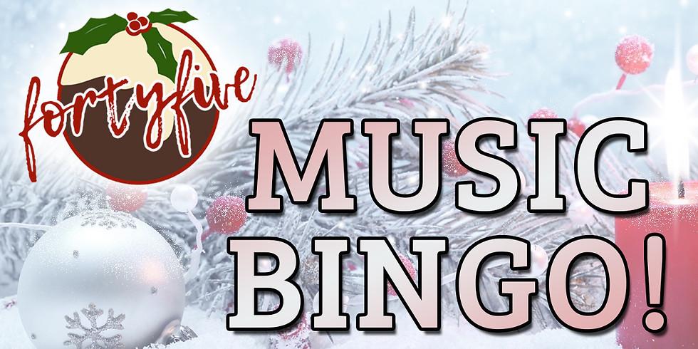Music Bingo Christmas Special!