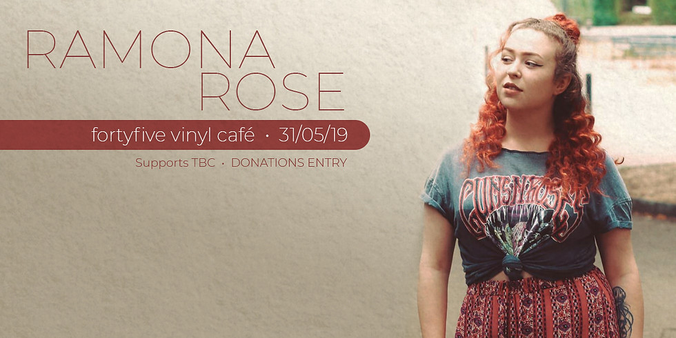 Live At FortyFive • Ramona Rose