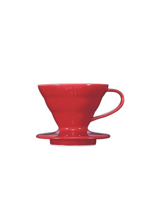 Hario V60 Ceramic Dripper (red)