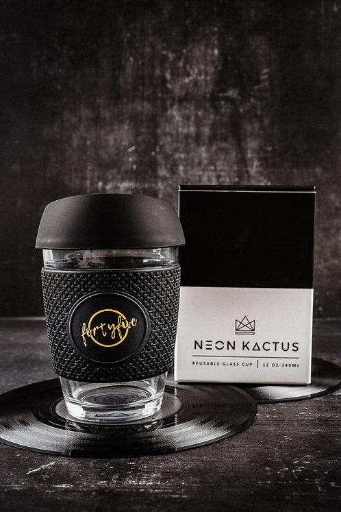 Neon Kactus Glass Keep Cup (12oz)
