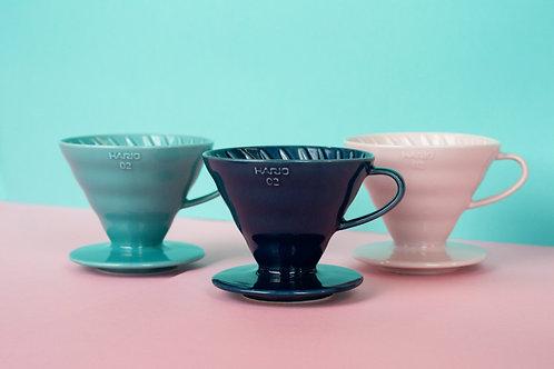 Hario V60 Ceramic Coffee Dripper (colours)