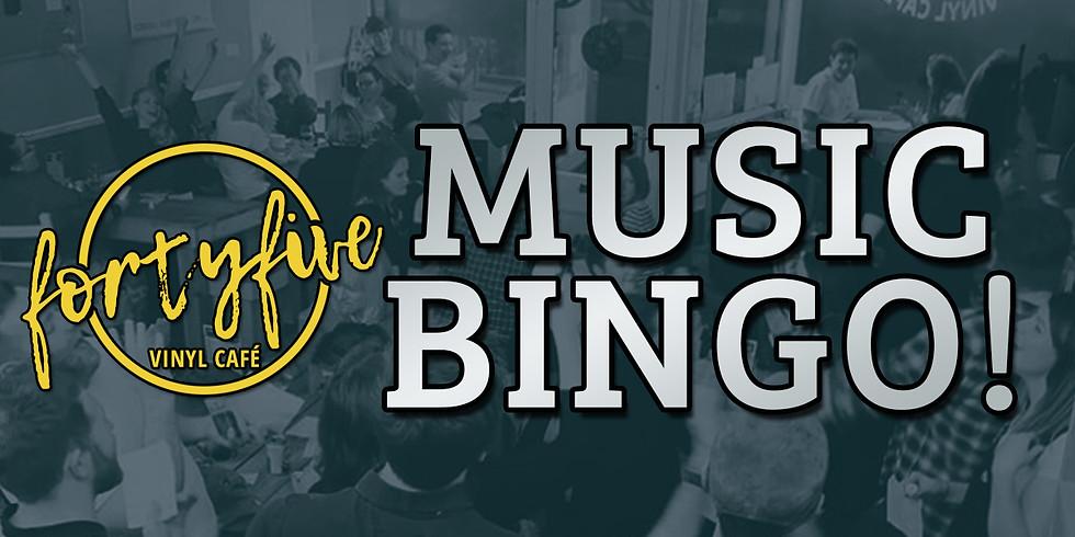 Music Bingo at FortyFive!
