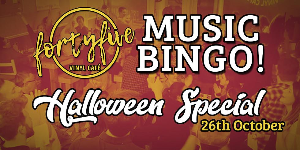 Music Bingo! Halloween Special