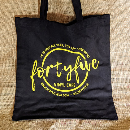 FortyFive Tote Bag (Black)