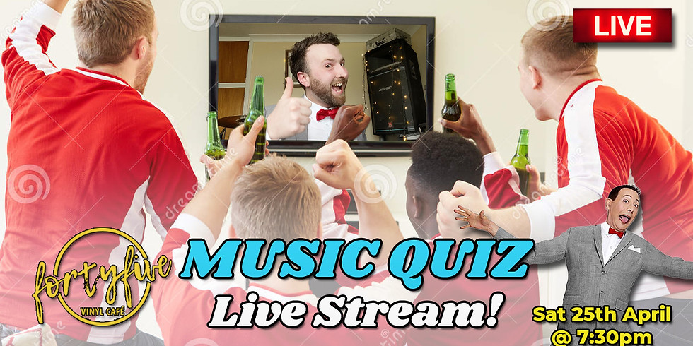 FortyFive Live Music Quiz!