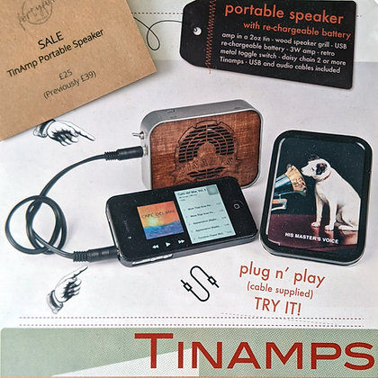 TinAmps Portable Speaker