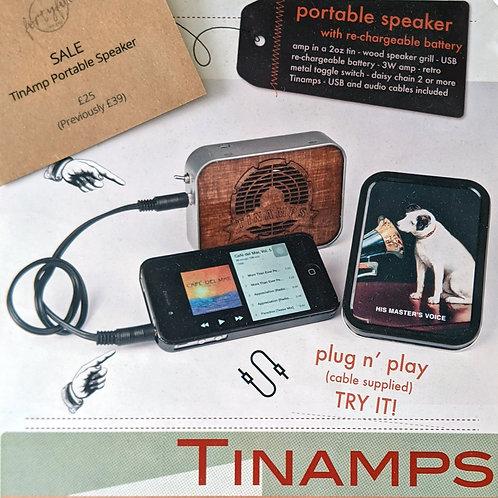TinAmps Portable Speaker