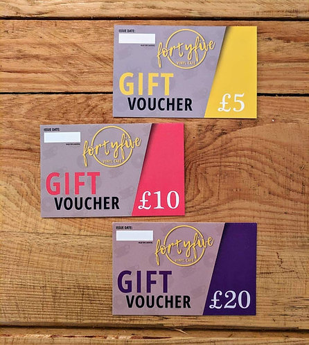 FortyFive Gift Card