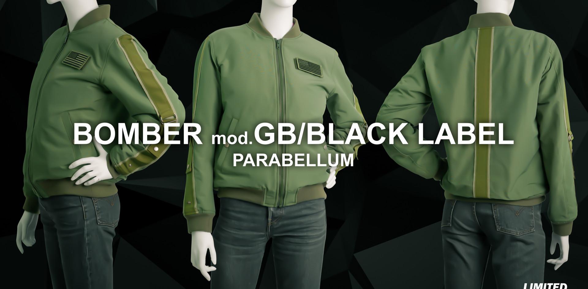 Gattopardo Parabellum Kevlar Jacket BLACK LABEL