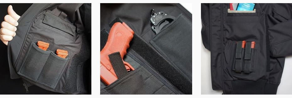 Detail Gattopardo Tactical Jaket GR01