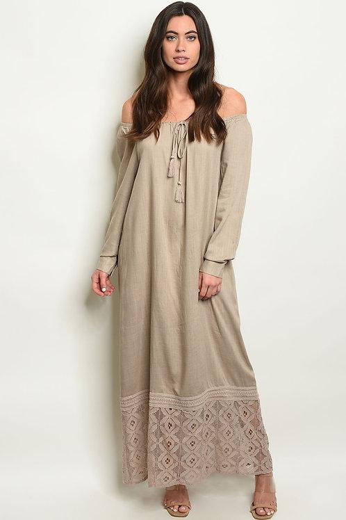 Taupe Dress
