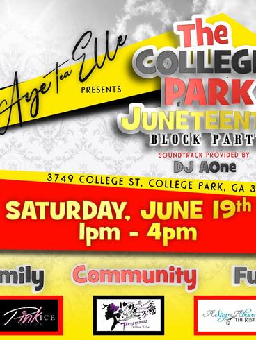 College Park Juneteenth Juneteenthclayto