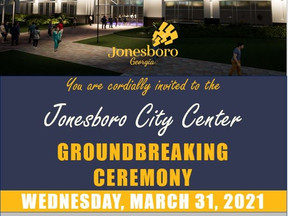Official Groundbreaking Ceremony for New Jonesboro City Center announced by The City of Jonesboro!