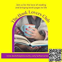 clayton county author corner book club books read