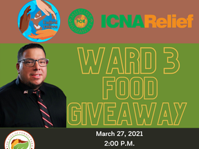 Food Giveaway March 27th Ward 3 Forest Park, GA | Clayton County, Georgia