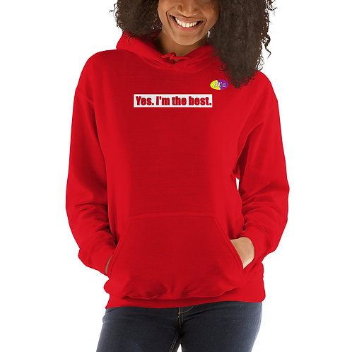 The Confident Not Sorry Unisex Hoodie
