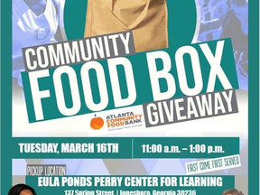 Food Box Giveaway Tuesday March 16th in Jonesboro, GA | Clayton County, Georgia