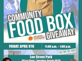 Food Giveaway Friday, April 9th, 2021 | Jonesboro, GA | Clayton County, Georgia