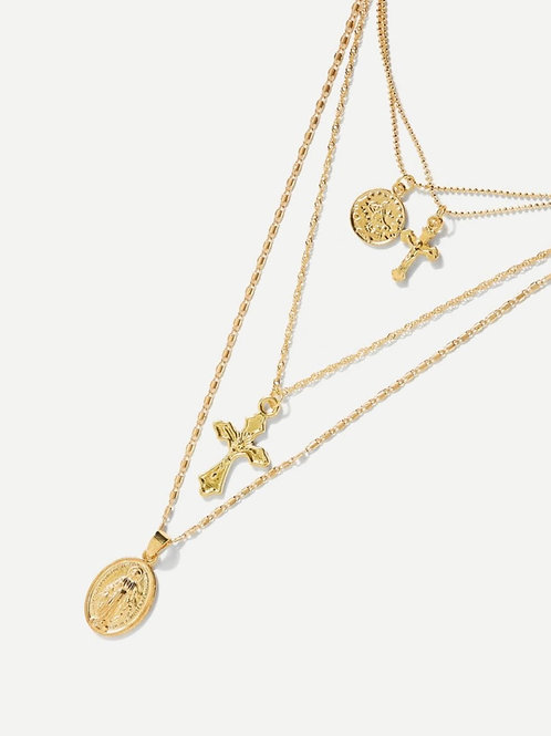 Saint Layered Necklace