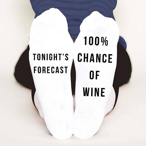Wine O'clock Socks
