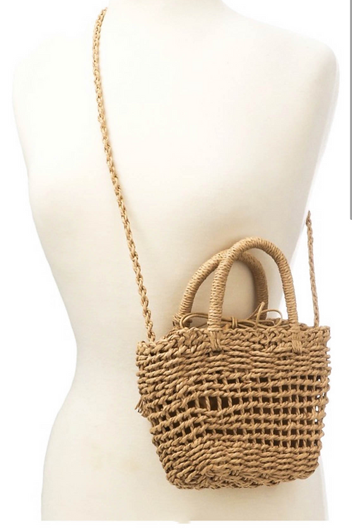 Mini Straw Bag