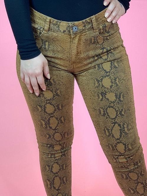 Riley Snakeskin Jeans