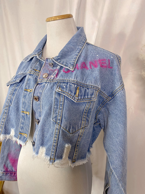 Hot Girl Denim Jacket