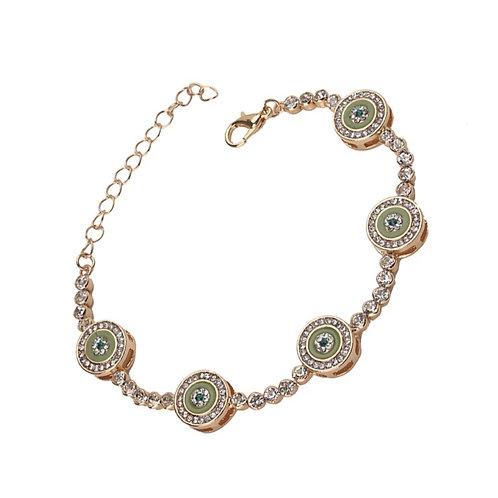 Olive Eye Bracelet