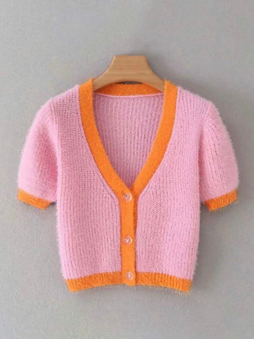 As If Cropped Cardi