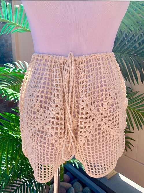 Maya Crochet Shorts