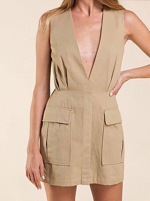 Claire Cargo Dress