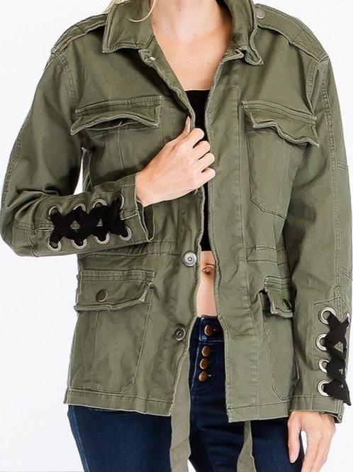 Ashlee Army Jacket