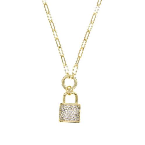 Love Lockdown Necklace