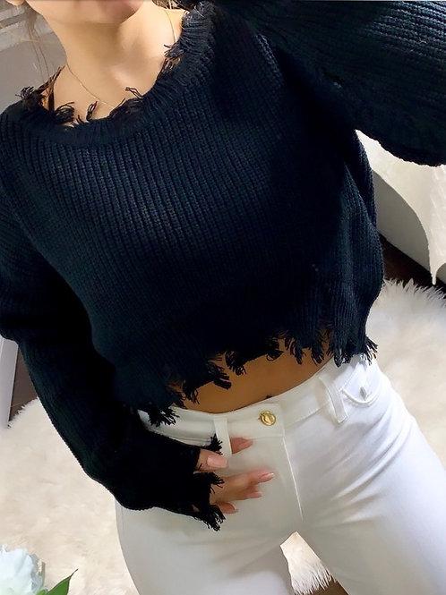 Mandee Knit Crop Top