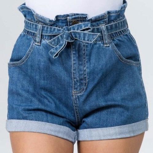 Dana Ruffle Waist Shorts