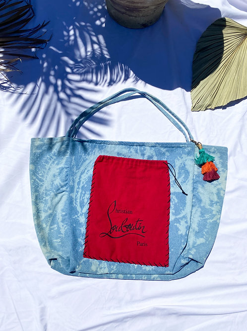 Red Dustbag Tote