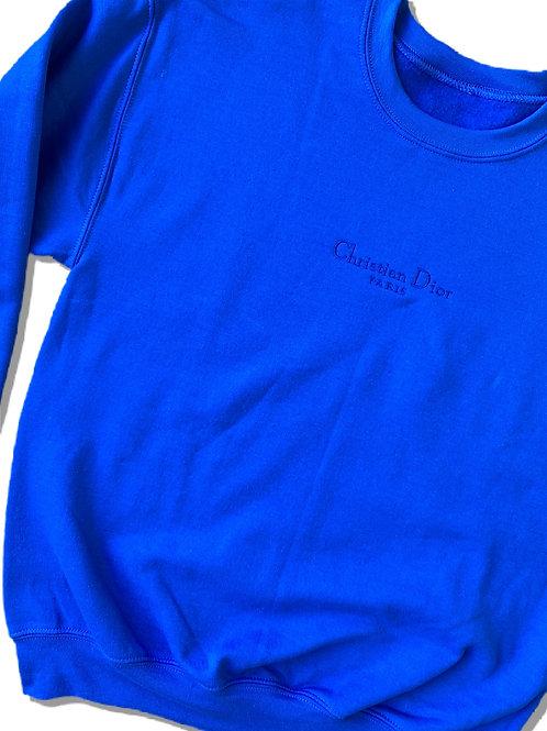 Blue CD Sweatshirt