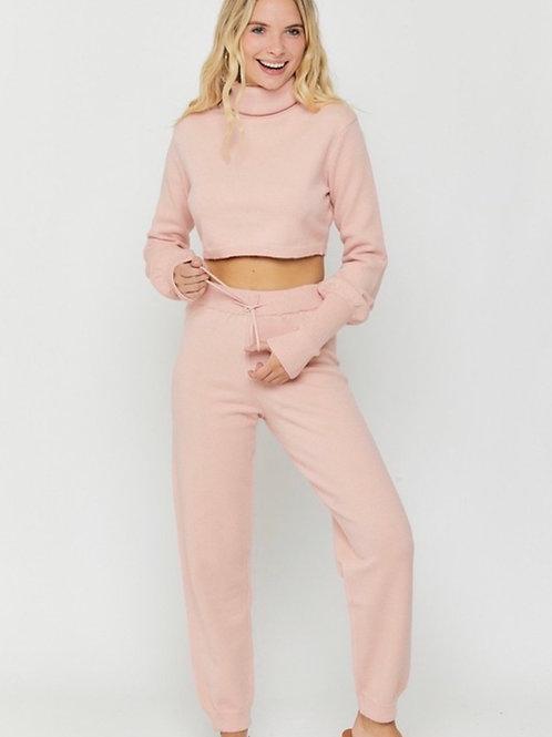 Blush Knit Jogger