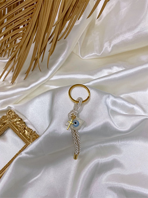 Iridescent Charm Keychain