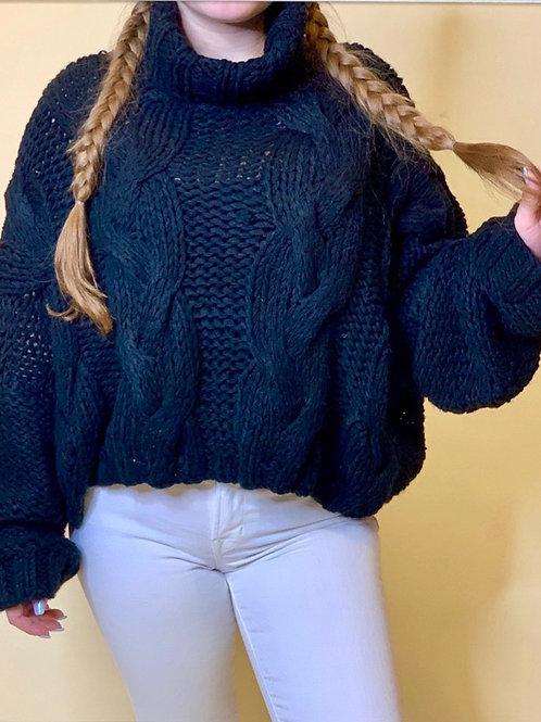 Lulu Crop Knit Top