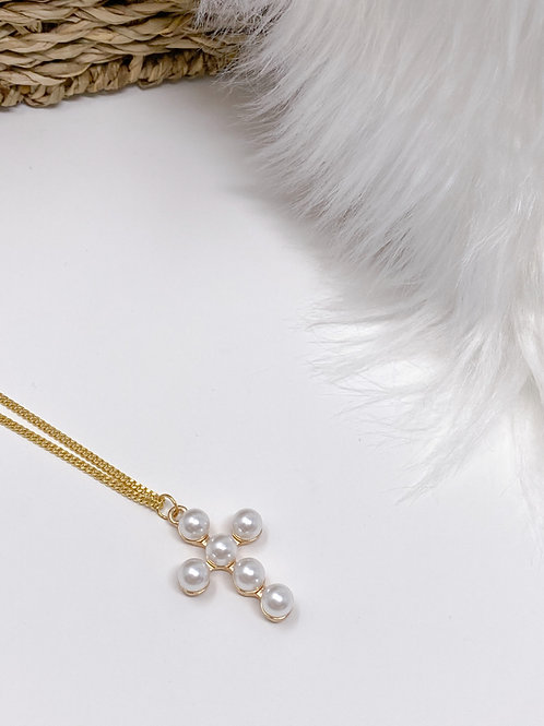 Mia Cross Necklace